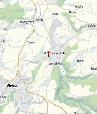 Karte / Pfarrkirche St. Veit Wünschendorf