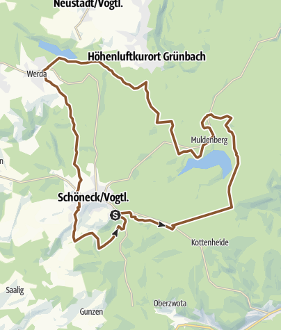 Map / MTB-Route 7 - Vogtlandpanoramatour