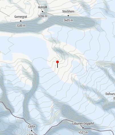 Kaart / Monte-Rosa-Hütte SAC