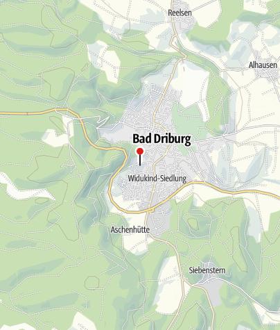 Kaart / Dreifaltigkeitskloster Bad Driburg