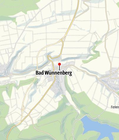 Karte / Wohnmobilhafen Bad Wünnenberg