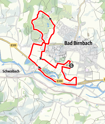 Karte / Sommernachtslauf Bad Birnbach