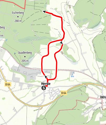 Karte / Koerfer-Weg