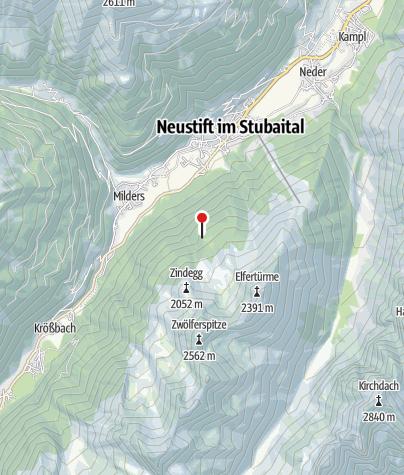 Karte / Autenalm