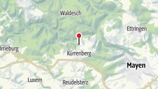 Karte / Aussicht Nitztal