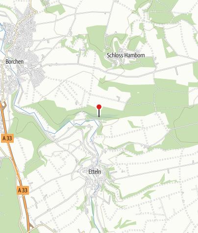 Karte / Picknickhütte bei Borchen-Etteln