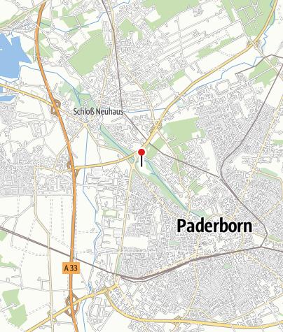 Karte / Padersee Paderborn