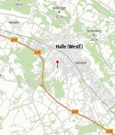 Karte / Halle Westfalen, Galerie Alte Lederfabrik