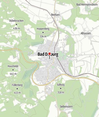 Kaart / Mühlrad in Bad Driburg