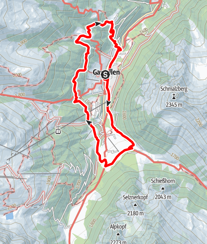 Map / Großer Dorfrundwanderweg (Geologischer Wanderweg)