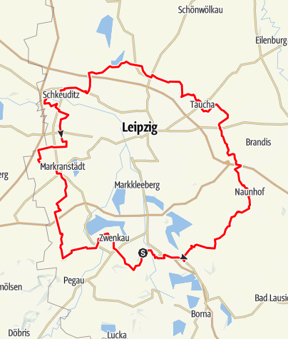 Karte / Grüner Ring Leipzig