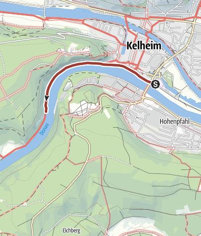 Karte / Barrierefreie Wanderung zur idyllischen Einsiedelei Klösterl