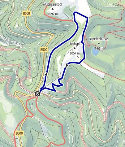 Karte / Barrierefreie NaTour am Seekopf
