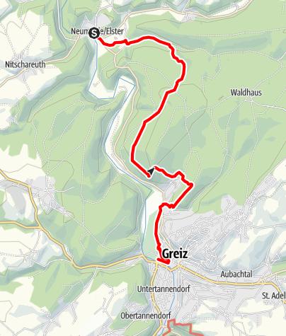 Map / Elsterperlenweg® – Etappe 6