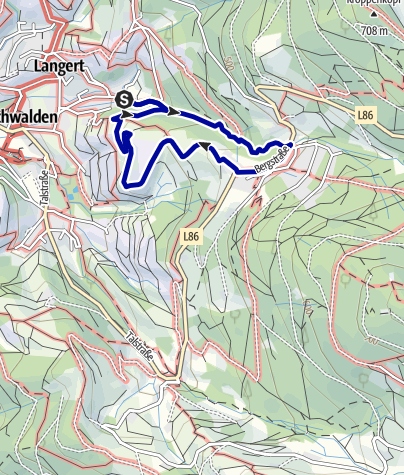 Map / NaTour in der Gaishöllschlucht bei Sasbachwalden