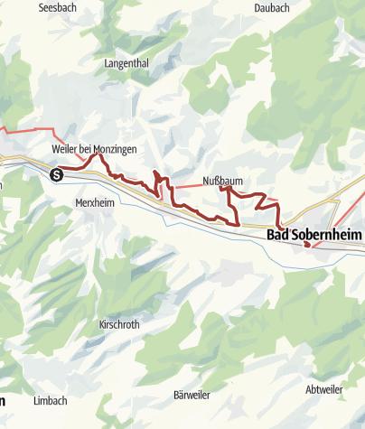 """Karte / 21. September 2019: Weinwanderwegfest """"Mittlere Nahe"""""""