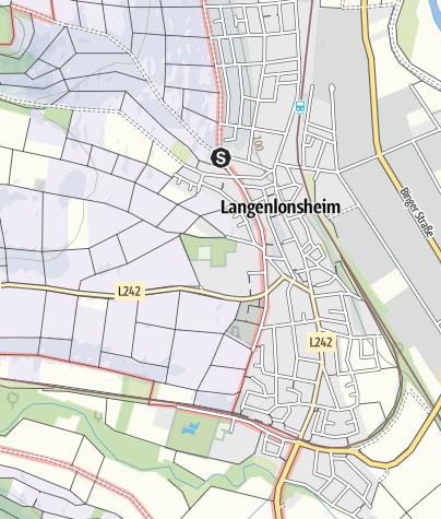 Karte / 28. Juli 2019: WeinWanderTag Langenlonsheim