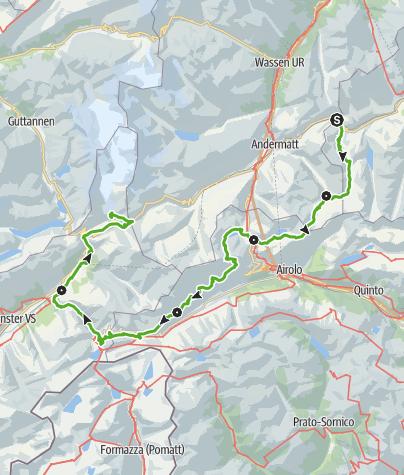 Karte / 49 Vier Quellen Weg (5 Etappen)
