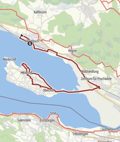 Map / Landschaft erleben - Kunst entdecken: Allensbach und Reichenau