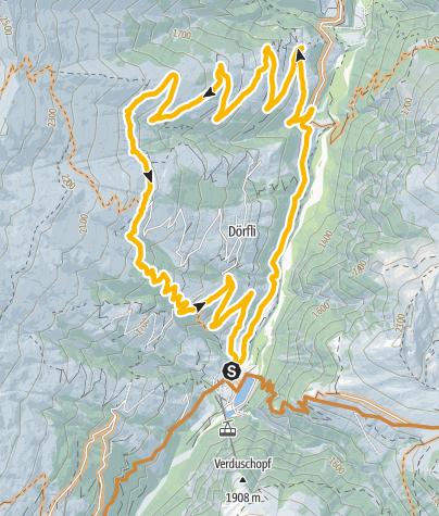 Karte / Aussersafien Bike