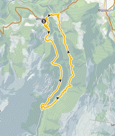 Karte / Sculms Mountainbike