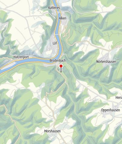 Karte / Campingplatz Historische Mühle Vogelsang