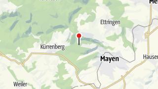 Karte / Aussicht auf St. Johann