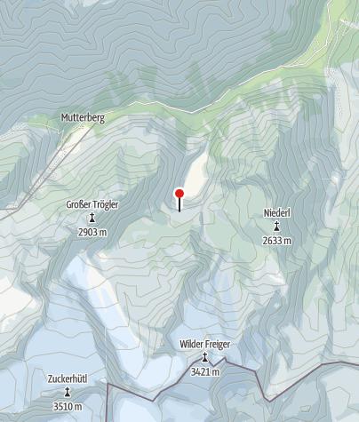 Karte / Übungsklettersteig WildeWasser