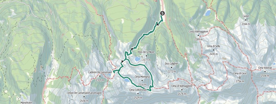 Static Map I tre laghi