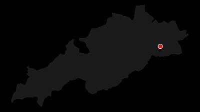 Map / The three lakes