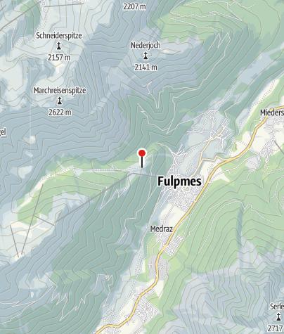 Karte / Fronebenalm