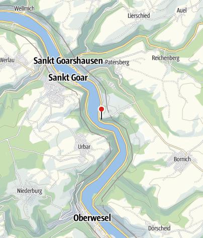 Map / Der Loreleyfelsen
