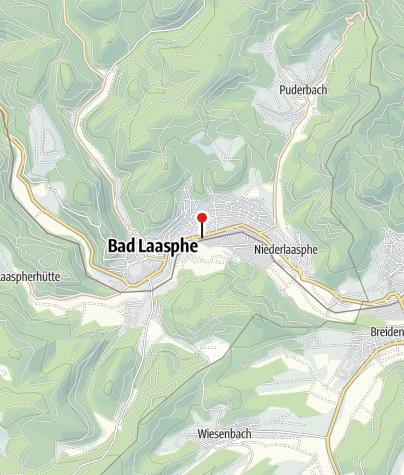 Karte / Bad Laasphe - Bahnhof