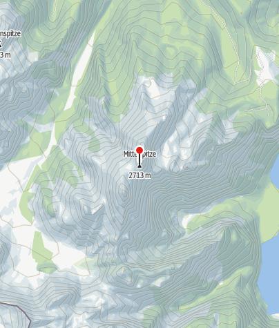 Map / Watzmann