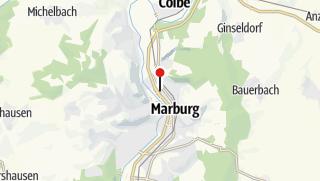 Map / Marburg Hbf