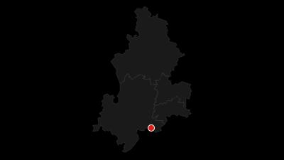 Karte / Schlossparkradrunde im Allgäu