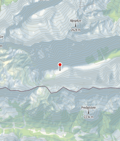 Karte / Reintalangerhütte
