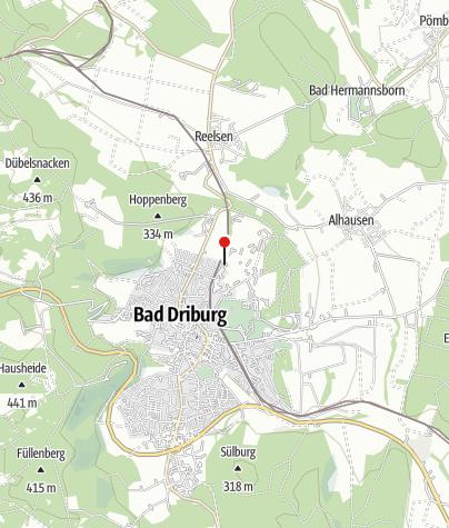 Karte / Bad Driburger Golfclub