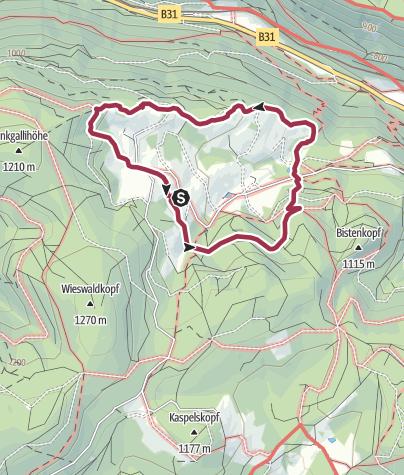 Karte / Rund um Alpersbach