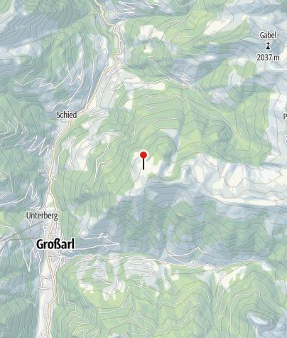 Karte / Saukaralm, 1.850 m