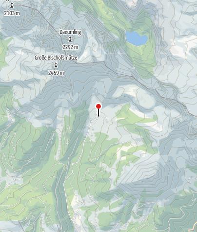 Karte / Nr. 18 Oberhofalm