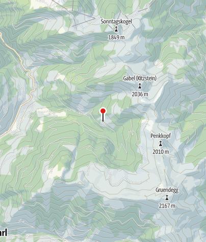 Karte / Breitenebenalm, 1.420 m