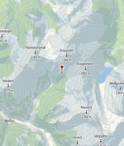 Karte / Draugsteinalm-Steinmannhütte, 1.778 m