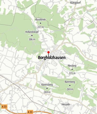 Karte / Kultur- und Heimathaus Borgholzhausen