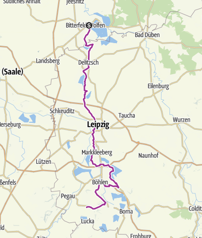 Map / Coal-Steam-Light Cycle Route