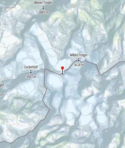 Mapa / Müller Hütte