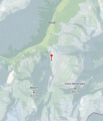 Mapa / Bsuchalm