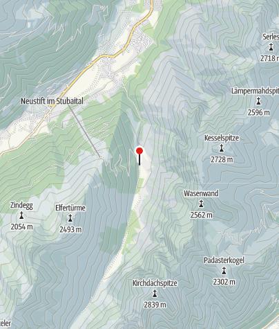 Map / Hüttentaxi Issenangeralm