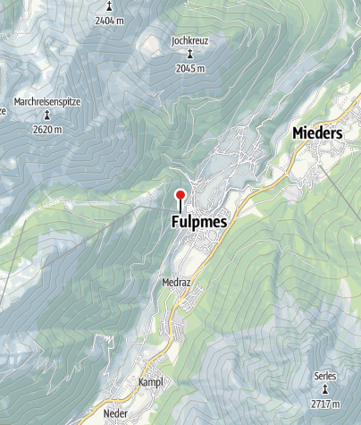 Karte / Talstation Schlick2000