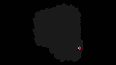 Karte / Mulderadweg von Döbeln bis Grimma